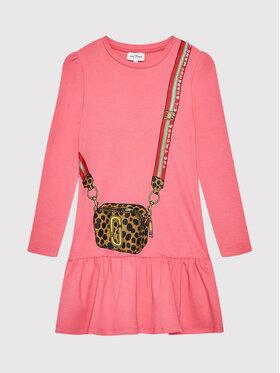 Little Marc Jacobs Little Marc Jacobs Ежедневна рокля W12379 D Розов Regular Fit