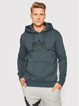 Alpha Industries Alpha Industries Sweatshirt Basic 178312 Grau Regular Fit