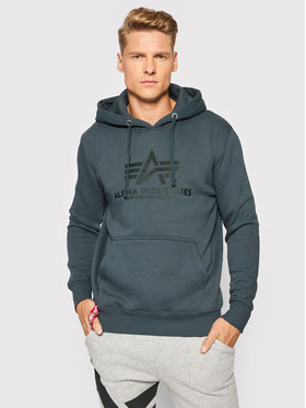 Alpha Industries Alpha Industries Sweatshirt Basic 178312 Gris Regular Fit
