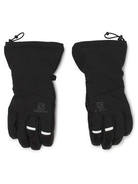 Salomon Salomon Lyžařské rukavice Propeller Long M LC1181900 Černá