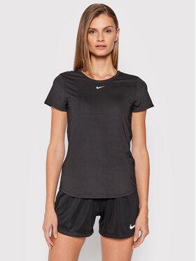 Nike Nike Koszulka techniczna Dri-Fit One DD0626 Czarny Slim Fit