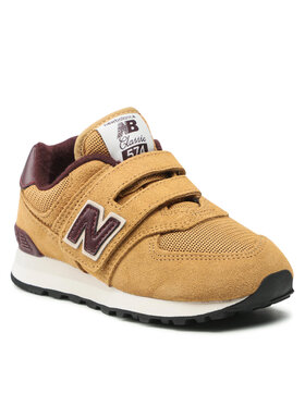 New Balance New Balance Sneakersy PV574BF1 Brązowy