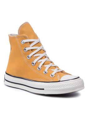 Converse Converse Sneakers aus Stoff Chuck 70 Hi 162054C Gelb