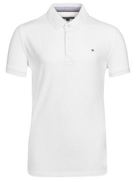 Tommy Hilfiger Tommy Hilfiger Polo marškinėliai KB0KB03975 Balta Regular Fit