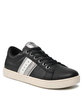 Geox Geox Sneakersy J Kathe G. F J16EUF 00085 C9999 S Czarny