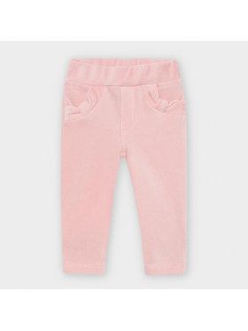 Mayoral Mayoral Spodnie materiałowe 514 Różowy Slim Fit