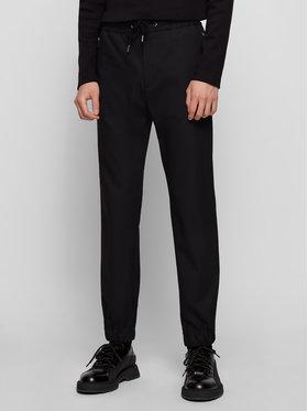 Boss Boss Pantaloni di tessuto Banks1-Spw-Z 50444546 Nero Slim Fit