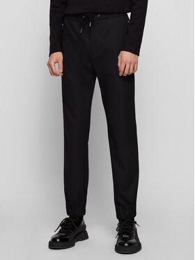 Boss Boss Текстилни панталони Banks1-Spw-Z 50444546 Черен Slim Fit