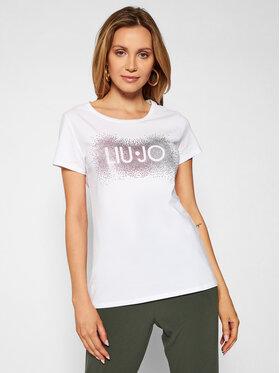 Liu Jo Sport Liu Jo Sport T-shirt TA1150 J5003 Blanc Regular Fit