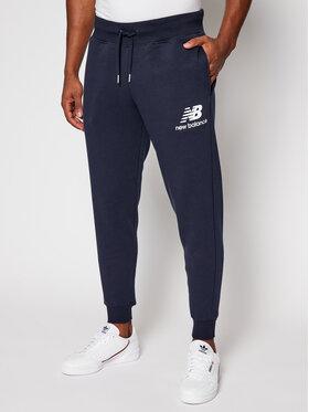New Balance New Balance Παντελόνι φόρμας MP03579 Σκούρο μπλε Athletic Fit