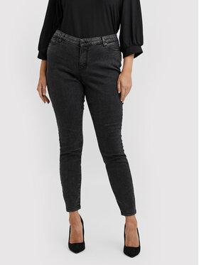 Vero Moda Curve Vero Moda Curve Džínsy Ludy 10249796 Čierna Slim Fit