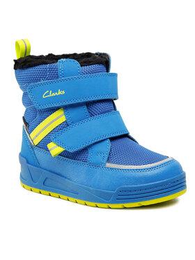 Clarks Clarks Śniegowce Jumper Jump T 261625957 Niebieski