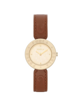 Furla Furla Часовник Essential WW00004-VIT000-03B00-1-007-20-CN-W Кафяв