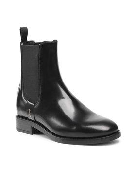 Gant Gant Kotníková obuv s elastickým prvkem Fayy 23551115 Černá