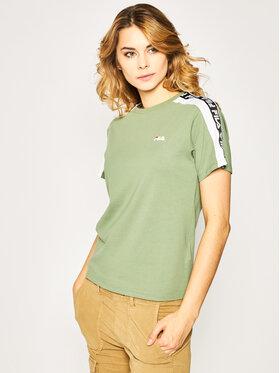 Fila Fila T-shirt Tandy Tee 687686 Verde Regular Fit