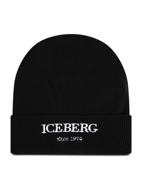 Iceberg Iceberg Шапка 20II1P1304070109000 Черен
