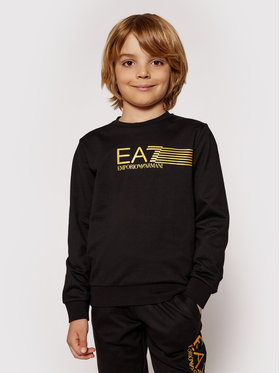 EA7 Emporio Armani EA7 Emporio Armani Sweatshirt 3KBM55 BJ05Z 1200 Noir Regular Fit