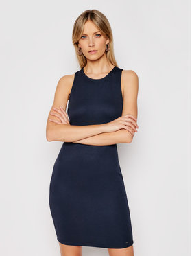 Armani Exchange Armani Exchange Kleid für den Alltag 8NYA94 YJB3Z 1510 Dunkelblau Slim Fit