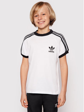 adidas adidas T-Shirt 3Stripes Tee DV2901 Weiß Regular Fit
