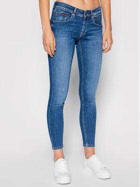 Tommy Jeans Tommy Jeans Дънки Scarlett DW0DW10292 Тъмносин Skinny Fit