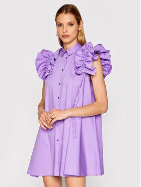 Imperial Imperial Sukienka koszulowa AA5TBBE Fioletowy Regular Fit