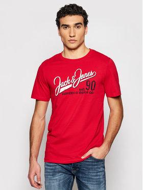Jack&Jones Jack&Jones T-shirt Logo 12180867 Rouge Slim Fit