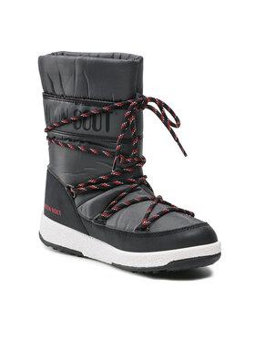 Moon Boot Moon Boot Śniegowce Jr Boy Sport Wp 34051300005 D Szary