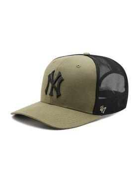 47 Brand 47 Brand Шапка с козирка New York Yankees B-GRDMD17RCP-XC Зелен