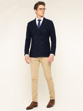 Tommy Hilfiger Tailored Tommy Hilfiger Tailored Košile Poplin Dot Classic TT0TT06635 Bílá Slim Fit