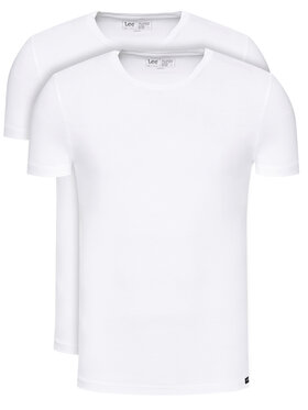 Lee Lee 2 marškinėlių komplektas L680CM12 Balta Regular Fit