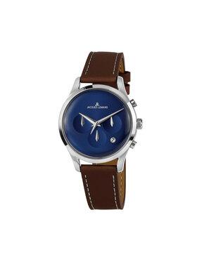 Jacques Lemans Jacques Lemans Zegarek 1-2067C Brązowy