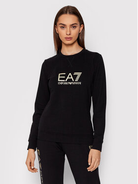 EA7 Emporio Armani EA7 Emporio Armani Bluză 8NTM35 TJCQZ 0200 Negru Regular Fit