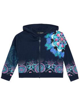 Desigual Desigual Džemperis Eris 21SGSK01 Tamsiai mėlyna Regular Fit
