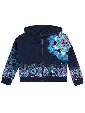 Desigual Desigual Sweatshirt Eris 21SGSK01 Dunkelblau Regular Fit