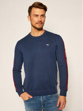 Tommy Jeans Tommy Jeans Sweater Sleeve Tape DM0DM09464 Sötétkék Regular Fit