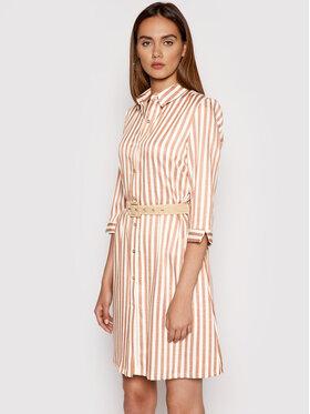 Rinascimento Rinascimento Sukienka koszulowa CFC0103418003 Różowy Regular Fit