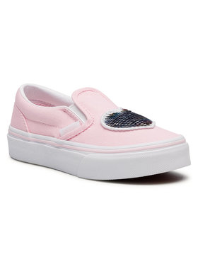 Vans Vans Sneakers aus Stoff Classic Slip-On VN0A4BUT31L1 Rosa