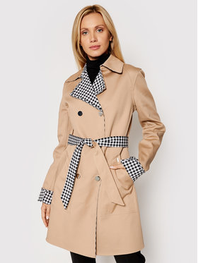 Guess Guess Trench-coat Sandra W1YL0F WE0N0 Noir Regular Fit