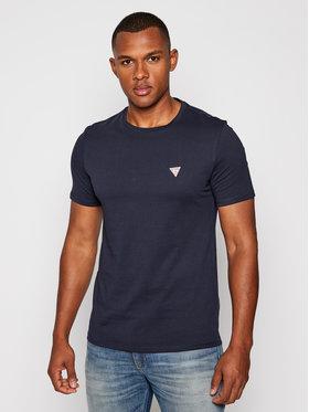 Guess Guess T-Shirt M0BI36 I3Z11 Granatowy Slim Fit
