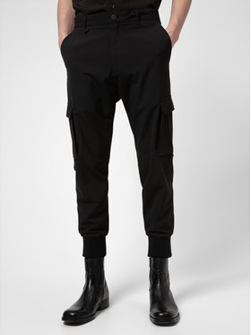 Hugo Hugo Pantalon en tissu Glavin 211 50441760 Noir Slim Fit