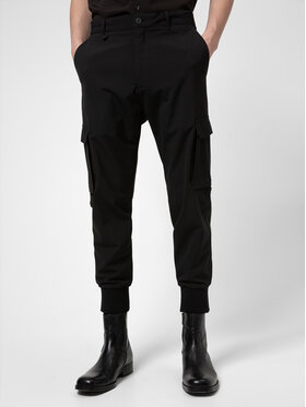 Hugo Hugo Текстилни панталони Glavin 211 50441760 Черен Slim Fit