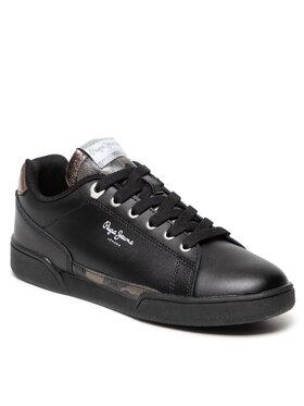 Pepe Jeans Pepe Jeans Sneakersy Lambert Camu PLS31246 Černá