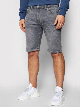 Pepe Jeans Pepe Jeans Дънкови шорти GYMDIGO Stanley PM800855 Сив Slim Fit