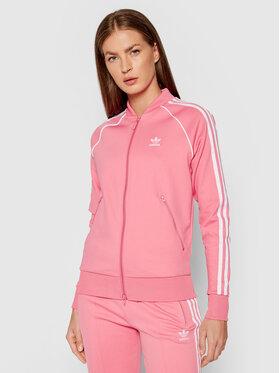 adidas adidas Mikina Primeblue Sst Track H34591 Růžová Regular Fit