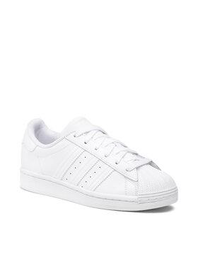 adidas adidas Batai Superstar J EF5399 Balta