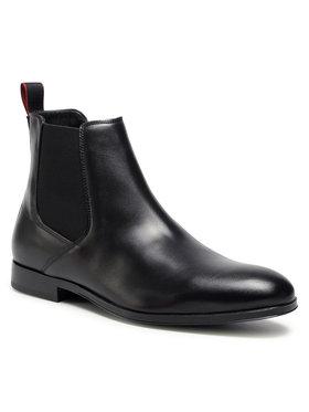 Hugo Hugo Kotníková obuv s elastickým prvkem Boheme Cheb 50441028 10222044 Černá