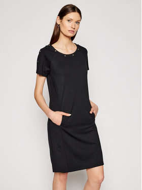 Liu Jo Sport Liu Jo Sport Ежедневна рокля TA1123 J6182 Черен Regular Fit