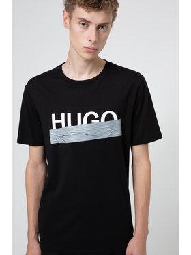 Hugo Hugo Tricou Dicagolino U204 50436413 Negru Regular Fit
