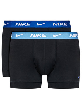 Nike Nike Комплект 2 чифта боксерки Everyday 0000KE1085 Черен