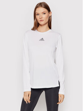 adidas adidas Bluzka ZOE SALDANA Essentials GS3934 Biały Regular Fit